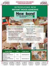 Nexabond Instant Wood Adhesive