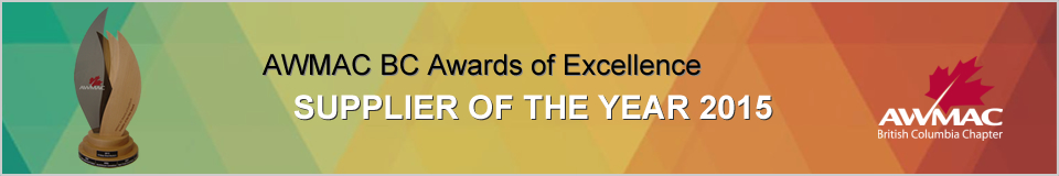 AWMAC Award 2015 - Awards of Excellence - Supplier of the Year 2013 Banner.jpg