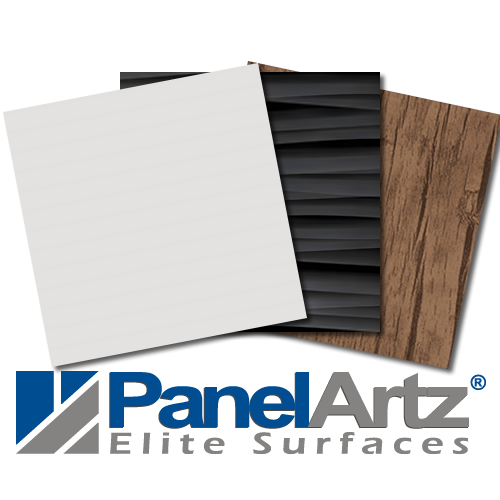 PET laminated MDF panels