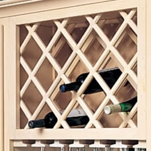 Wine Lattice Racks
