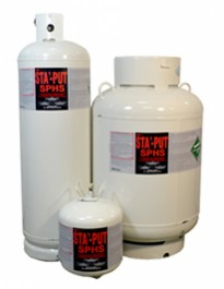 STA-PUT  NON-FLAMMABLE PRESSURIZED CANISTER