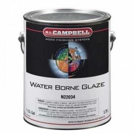 1 QT WATER BORNE GLAZE N22034