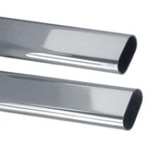 Oval Steel Closet Rod