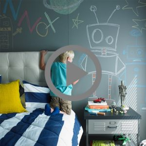 HOW TO.. DIY Formica® Chalkboard Wall