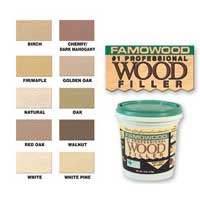 Wood Putty & Fillers
