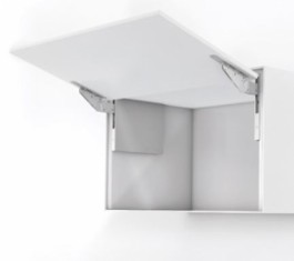Grass, Kinvaro T-Slim Lift-up flap fitting for wood front