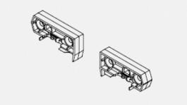 Shelf clip, rear