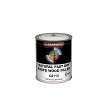 M.L.CAMPBELL, Fast Dry Paste Wood Filler, 1 GAL