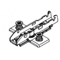 GRASS, 1D CROSS MOUNTING PLATE, 4-POINT FIXING